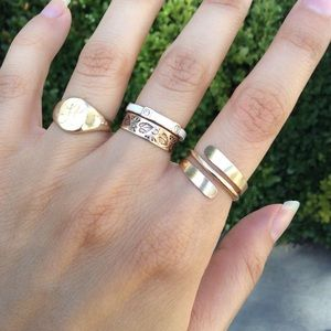 12k GOLD 😍 Goddess Spiral Ring!!!
